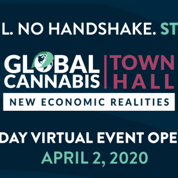 New Frontier Data Launches First Virtual Global Cannabis Town Hall