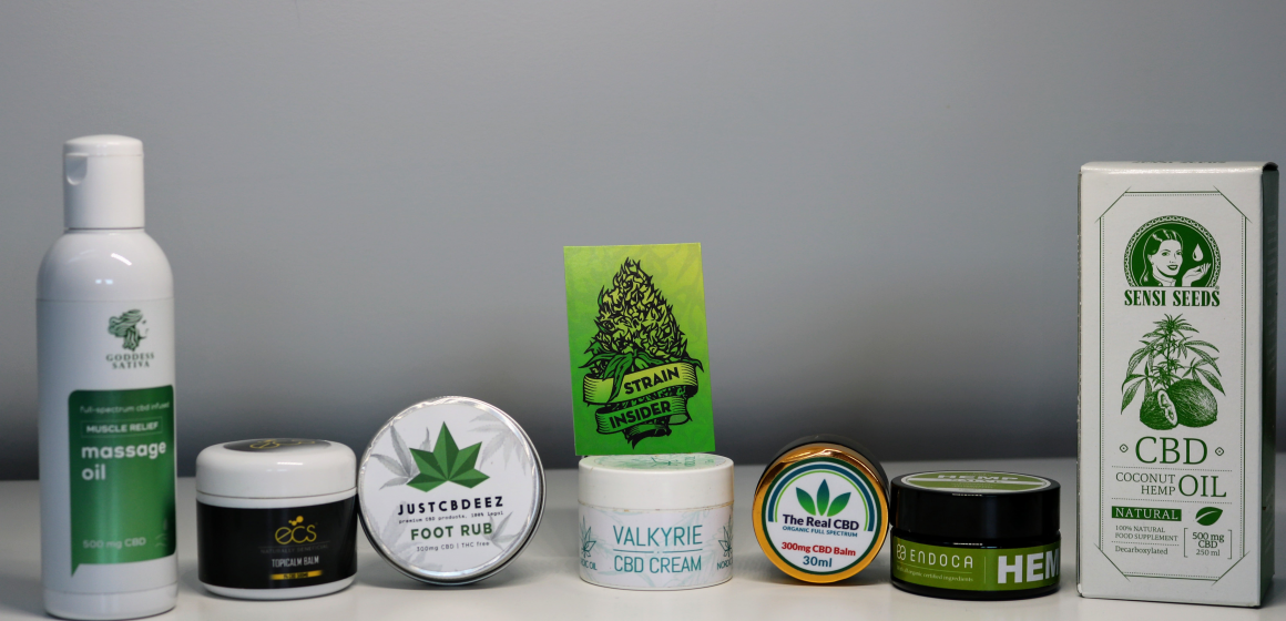 Top 10 CBD Skin Care Products in Europe in 2020